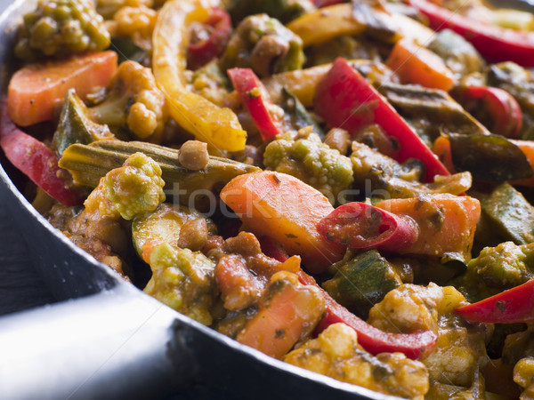 Sabzi Salan - Vegetable Curry Stock photo © monkey_business