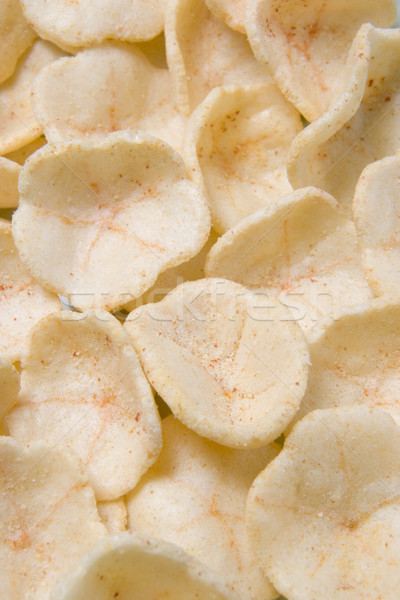 Prawn Flavoured Potato Puff Snacks Stock photo © monkey_business