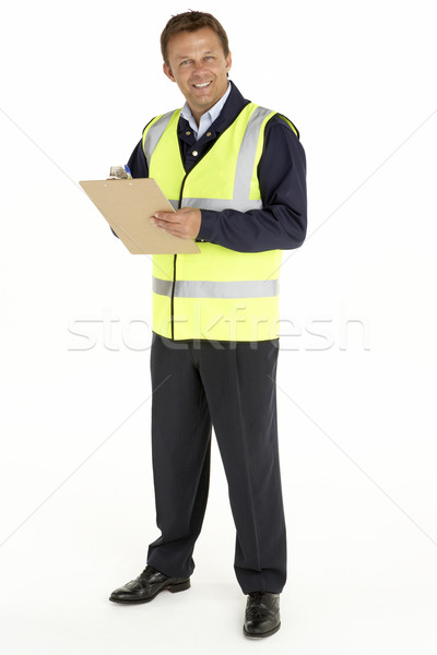 Courier Writing On A Clipboard Stock photo © monkey_business