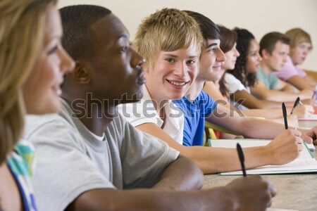 Schoolchildren in high school class Stock photo © monkey_business
