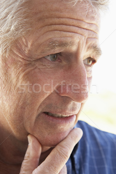 senior,portrait,Man,Fifties,Happy,Smiling,Cheerful,Friendly,Happ Stock photo © monkey_business