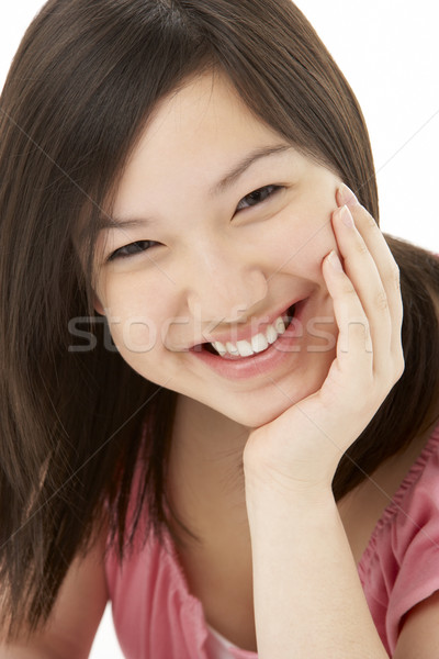 Studio Portrait of Smiling Teenage Girl Stock photo © monkey_business