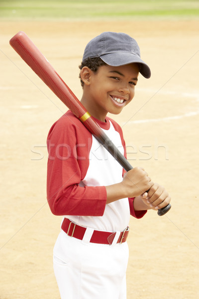 Young Boy Playing Baseball Stock photo © monkey_business