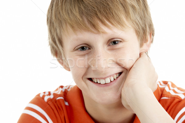 Portrait Of Smiling 12 Year Old Boy Stock photo © monkey_business
