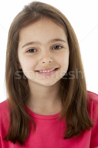 Studio Portrait of Smiling Girl Stock photo © monkey_business