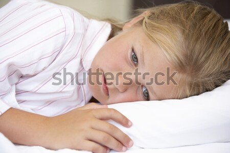 Head and shoulders mid age woman sleeping Stock photo © monkey_business