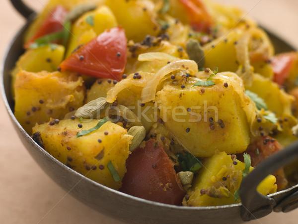 パン インテリア 野菜 ジャガイモ スパイス ストックフォト © monkey_business