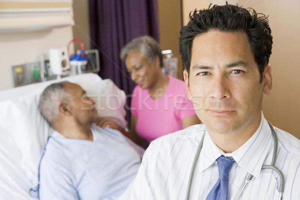 Stock fotó: Orvos · áll · kórház · szoba · nő · orvosi