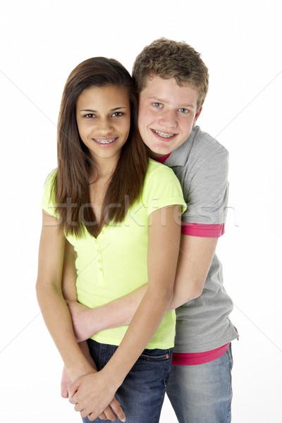 Teenage Couple in Studio Stock photo © monkey_business