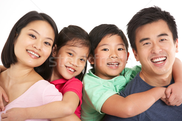 Chinese familie man vrouwen kind Stockfoto © monkey_business