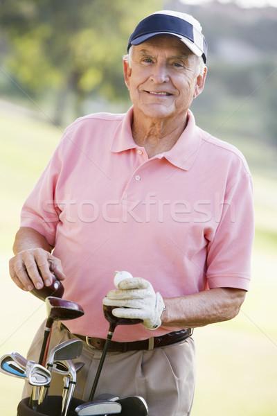 Portrait Of A Male Golfer Stock photo © monkey_business