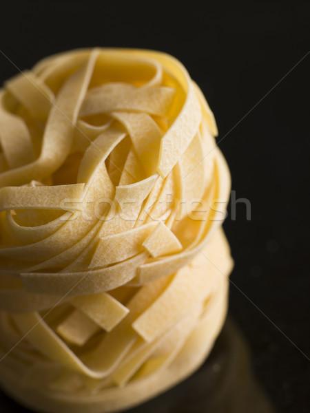Pasta, Fettuccine, Nests Stock photo © monkey_business