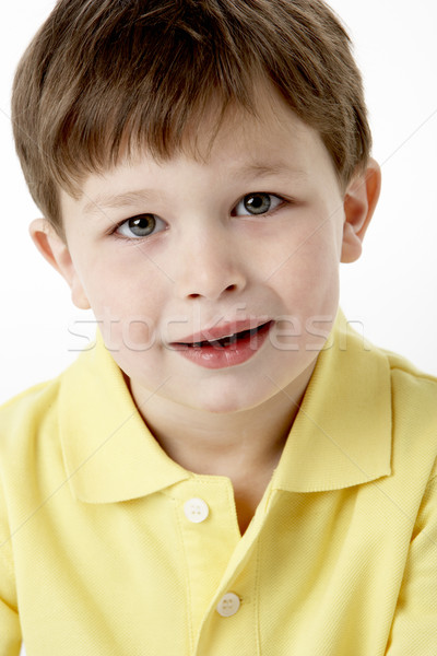 Portrait Of Smiling Young Boy Stock photo © monkey_business