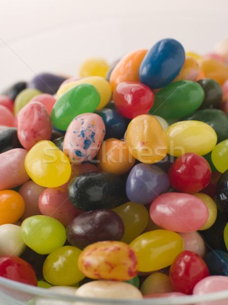 Bowl Of Coloured Jellybeans Stock photo © monkey_business
