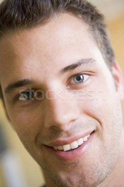 Head shot of man smiling Stock photo © monkey_business