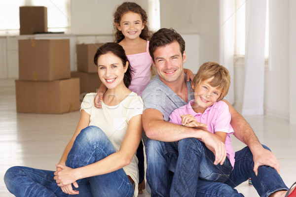 Family in new home Stock photo © monkey_business