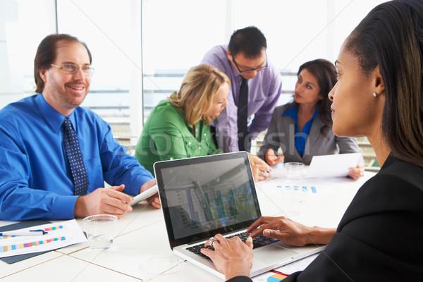 Stockfoto: Vergadering · boardroom · business · vrouw · vrouwen
