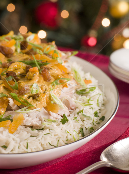Coronation Turkey Rice Salad Stock photo © monkey_business
