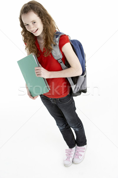 Young Female Student With Backpack Stock photo © monkey_business
