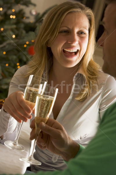 Drinking Champagne Stock photo © monkey_business