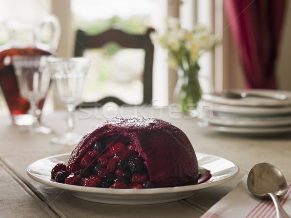 Summer Pudding Stock photo © monkey_business