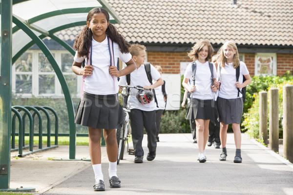 Stockfoto: School · gelukkig · kinderen · onderwijs · studenten