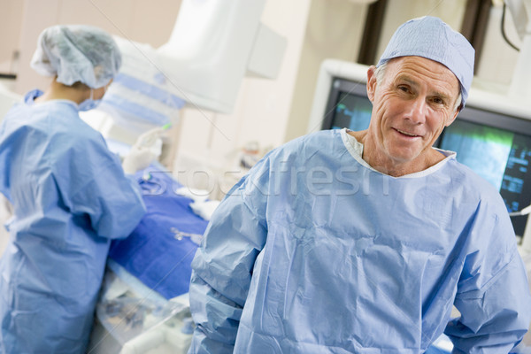 Stock photo: Surgeons In The Operating Room
