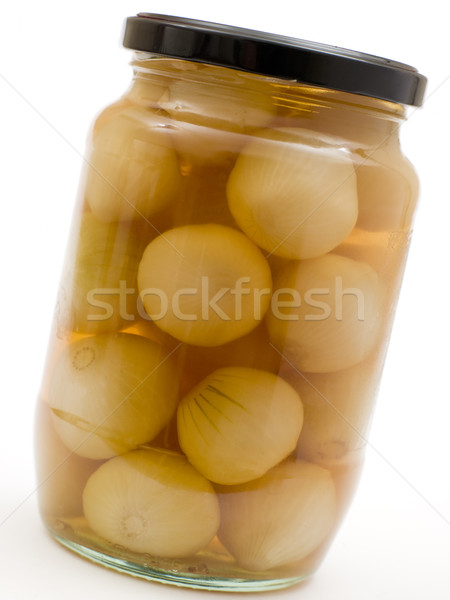 Jar of Pickled Onions Stock photo © monkey_business