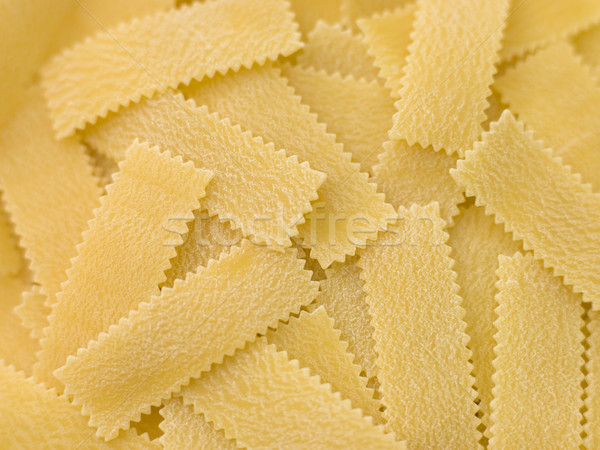 Dried Pasta Strips Stock photo © monkey_business
