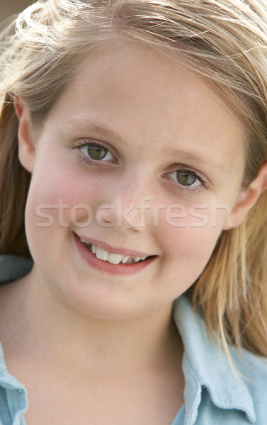 Kids Portraits, Girl, Worried, Uncertain, Unsure, Anxious, Kids, Stock photo © monkey_business