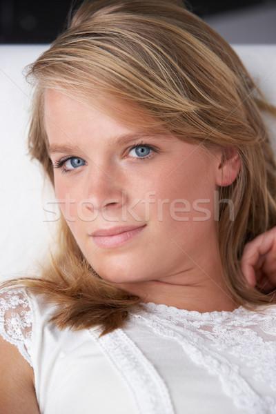 Studio Portrait Of Teenage Girl Stock photo © monkey_business