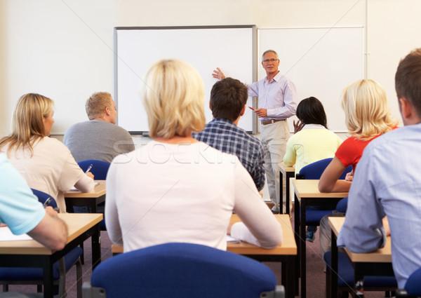Сток-фото: старший · преподавания · класс · женщины · образование
