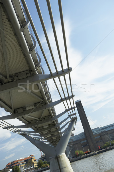 Millennium Footbridge, London, England Stock photo © monkey_business