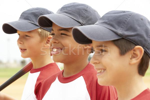 Fiatal fiúk baseball csapat gyerekek gyermek Stock fotó © monkey_business