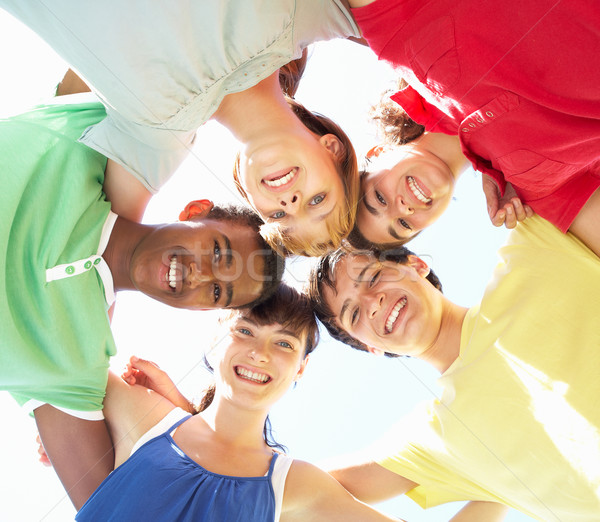 Group Of Teenagers Looking Down Into Camera Stock photo © monkey_business