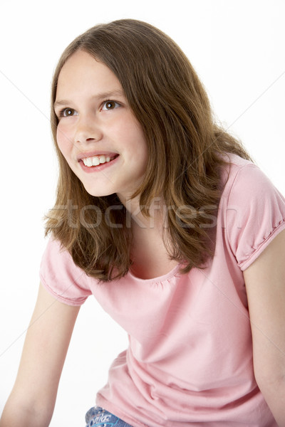 Portrait Of Smiling Young Girl Stock photo © monkey_business