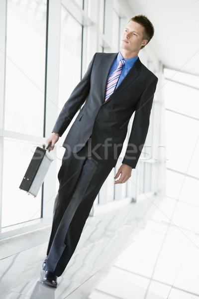Businessman walking in corridor Stock photo © monkey_business