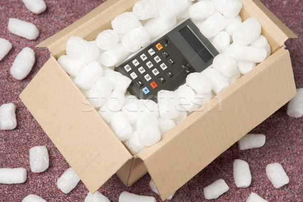 A Package Containing A Calculator Stock photo © monkey_business