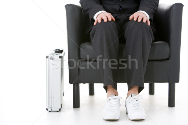 Businessman Holding Wearing Sneakers  Stock photo © monkey_business
