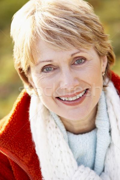 Stock photo: Portrait Of Senior Woman Smiling