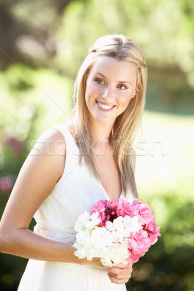 Mariée robe mariage femme Photo stock © monkey_business