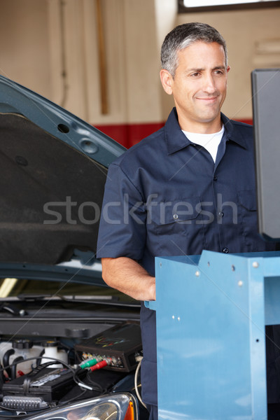 Mechanic at work Stock photo © monkey_business