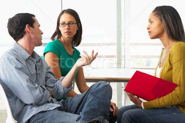 Couple Having Relationship Counselling Stock photo © monkey_business