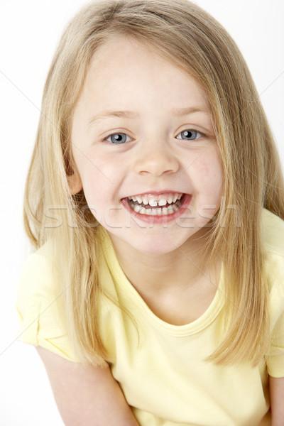 Сток-фото: портрет · улыбаясь · детей · счастливым · ребенка