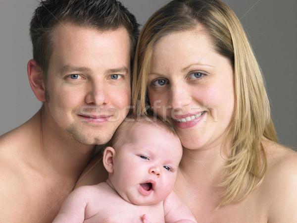 Család baba nő lány szeretet Stock fotó © monkey_business