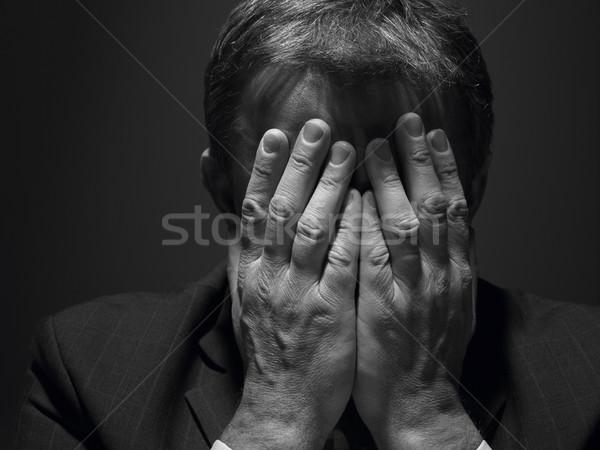 Zdjęcia stock: Portret · biznesmen · wykonawczej · osoby · mężczyzna