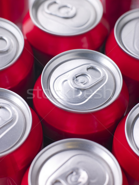 Rouge Cola groupe couleur objets soude Photo stock © monkey_business