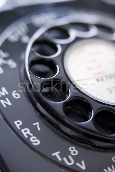 Közelkép telefon telefon szín ötlet kör Stock fotó © monkey_business