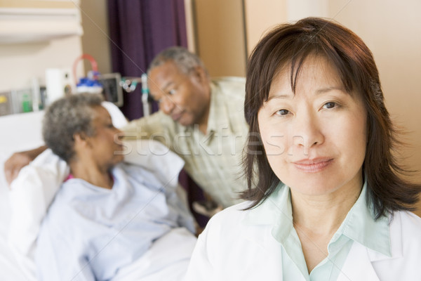 Nurse Standing In Hospital Room Stock photo © monkey_business