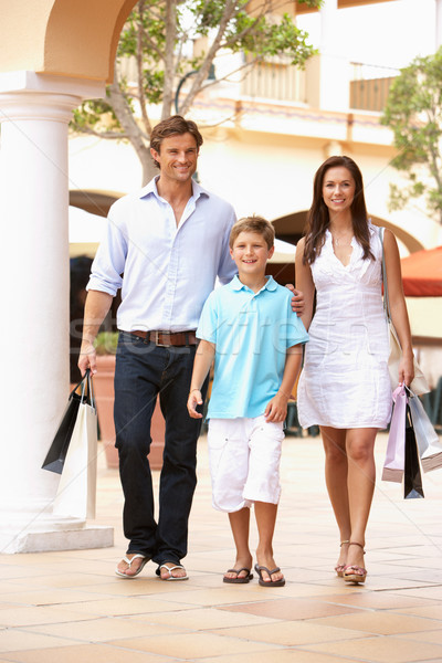Young Family Enjoying Shopping Trip Together Stock photo © monkey_business